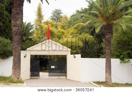 Entry Private Tennis Club  Carthage Tunisia
