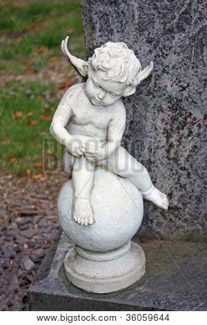 Figure of an Angelic Boy.