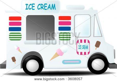 Camión de helado