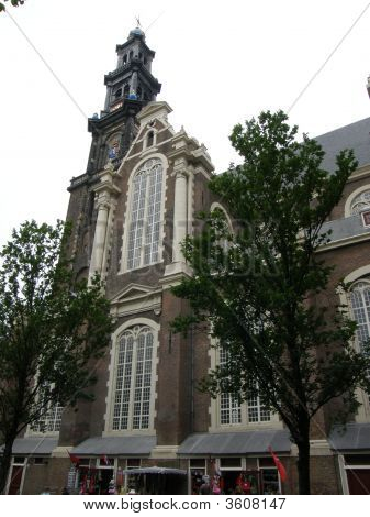 Westerkerk Church In Amsterdam