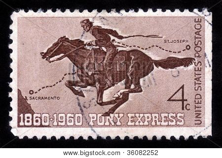 100 Anos do Pony Express