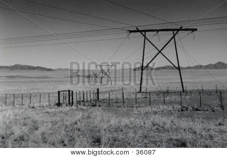 Electricity In Desert