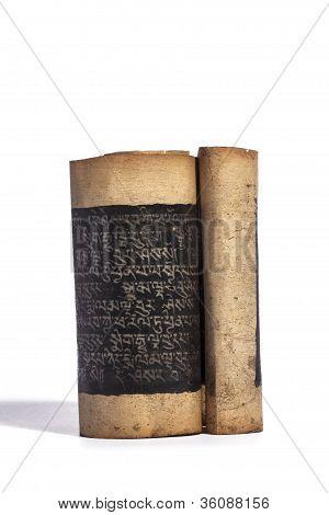 Buddhist Sutra Scroll