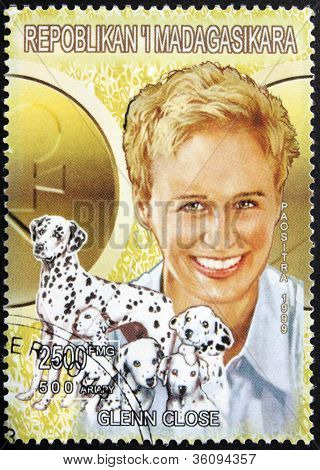 Glenn Close Stamp
