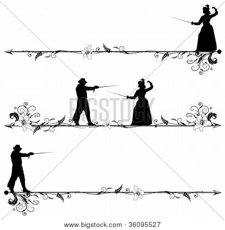 Fencing People