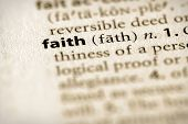 Dictionary Series - Religion: Faith