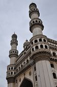 stock photo of charminar  - Charminar in Hyderabad in Andhra Pradesh - JPG