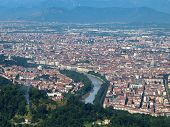 picture of torino  - View of the city of Turin - JPG