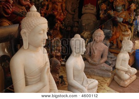 Sculptures Of Buddha