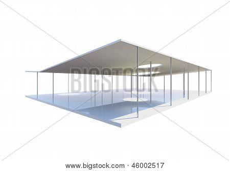 Open Space, Conceptual Modern Building