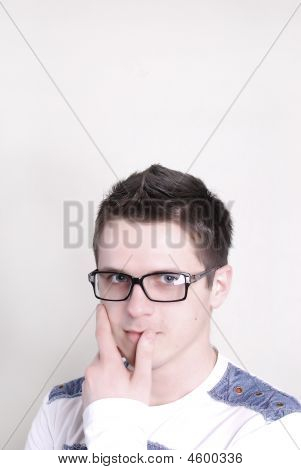 Man In Glasses