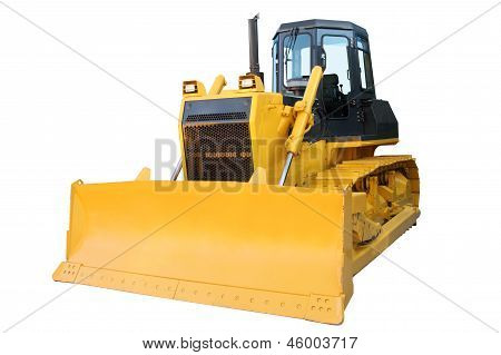 The Modern Yellow Bulldozer