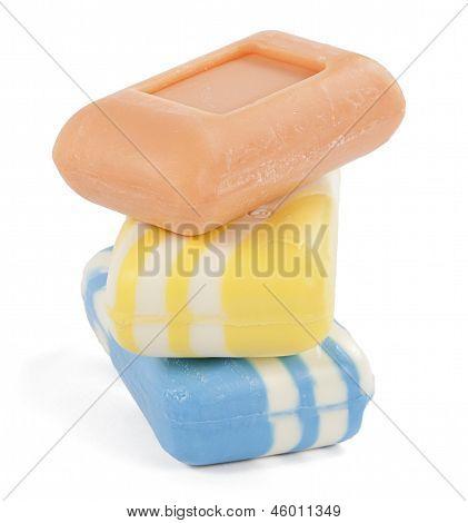 three soaps