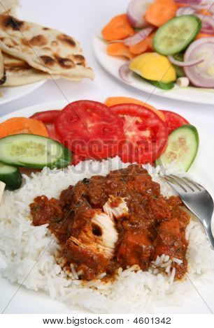 Chicken Tikka Masala Meal Vertical