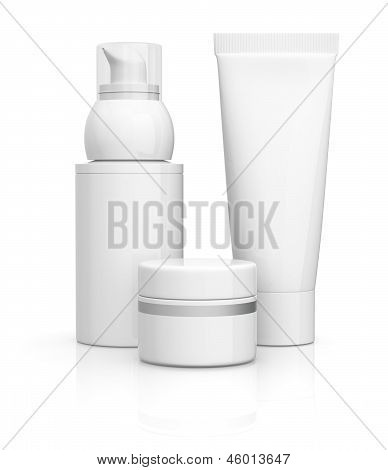 Tube Jar And Bottle