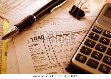 1040 Steuerformular
