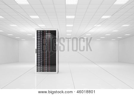 Data Center With A Single Rack
