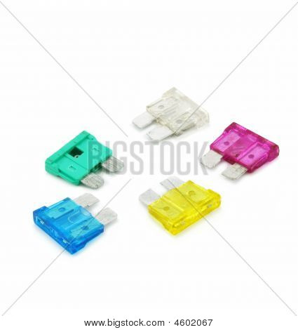 Colored Safety Fuses