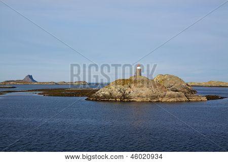Rocky Islands In Norway