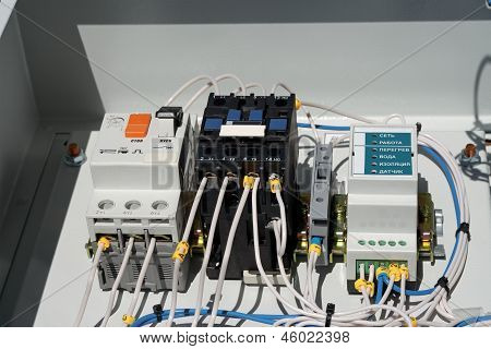 Electroshield Pump Control.