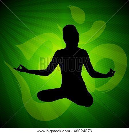 Meditation pose