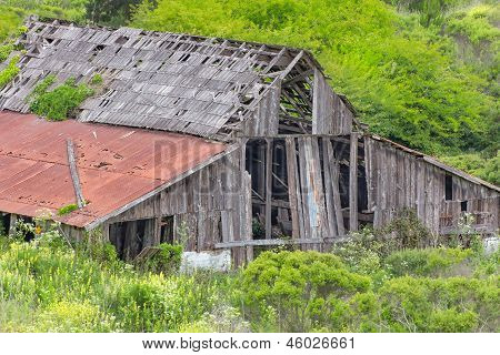 Dilapidated Rural Barn