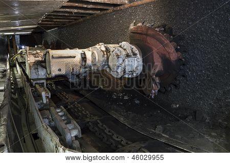 Extracción de carbón: Carbón mina excavadora