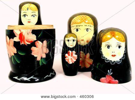 Bonecos de madeira