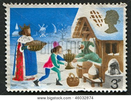 UK - CIRCA 1973: A stamp printed in UK shows image of the