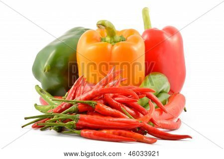 Chili And Sweet Pepper