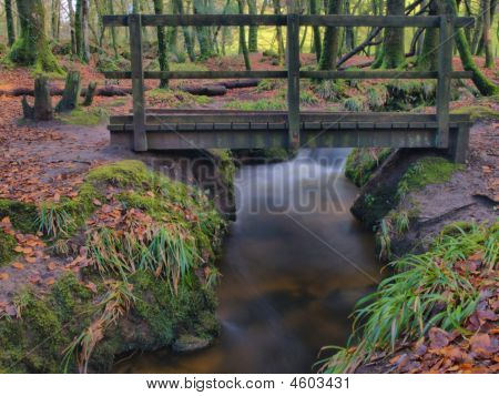 Bridge Over Gloitha Falls