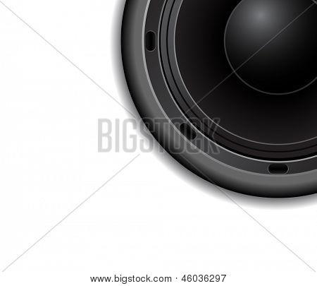 audio speacker background