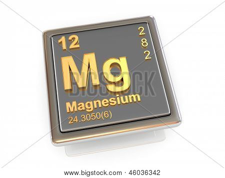 Magnesium. Chemical element. 3d