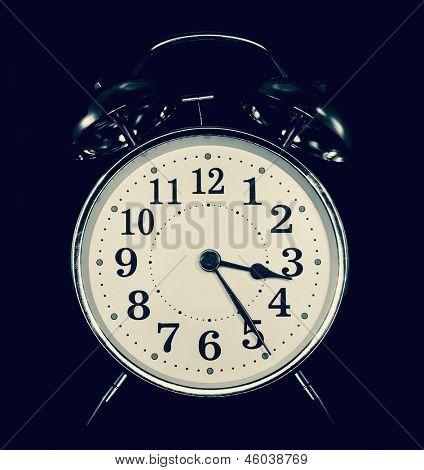 night-time clock