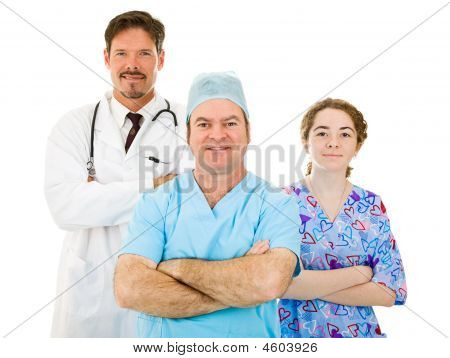 Likeable Hospital Medical Staff