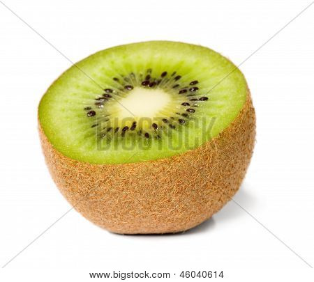 Green Cutout Fruit Kiwi