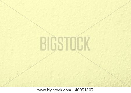 Polystyrene Light Yellow Foam Texture