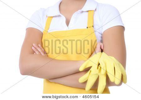 Mulher empregada