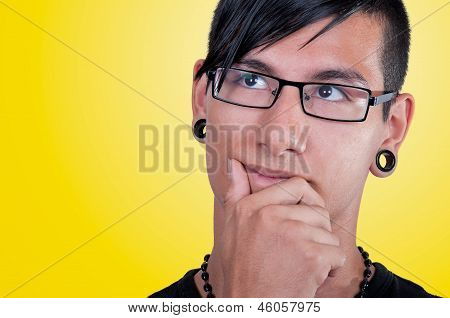 Latin Man, Pensive