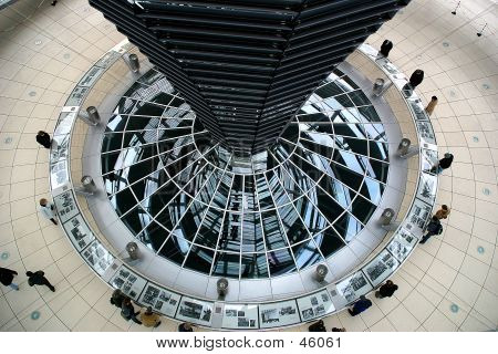 Inside The Reichstag Dome - Berlin, Germany