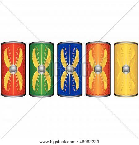 Shields Roman legionnaires
