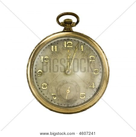 Old Golden Pocket Watch