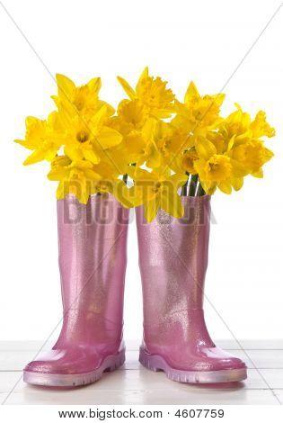 Daffodil Wellies