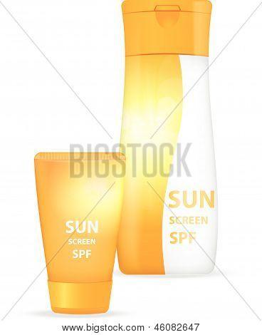 Sunblock body lotions