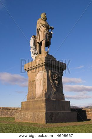 Robert Bruce Monument, Stirling Castle, Scotland