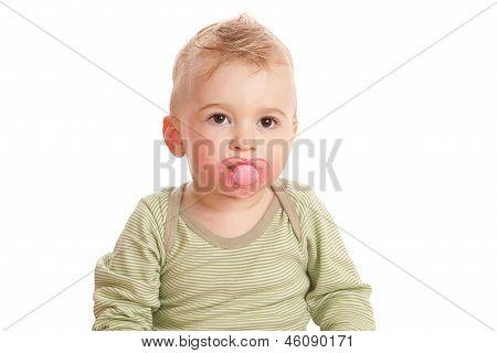 Boy With A Baby's Dummy