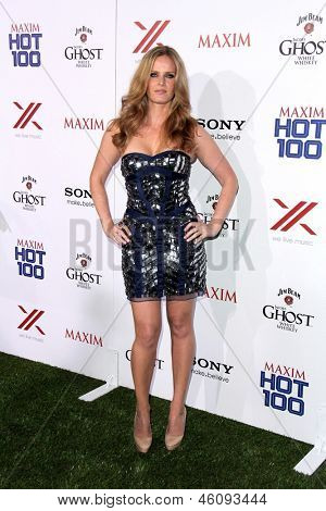 LOS ANGELES - MAY 15:  Rebecca Mader arrives at the 2013 Maxim Hot 100 Party at the Vanguard on May 15, 2013 in Los Angeles, CA