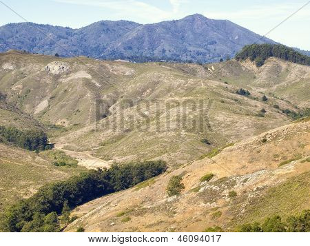 Marin Hills and Mount Tamalpais