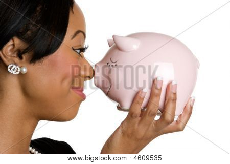Piggy Bank Lady