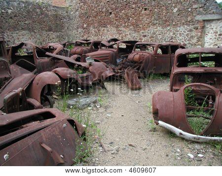 Cars Oradour Sur Glane